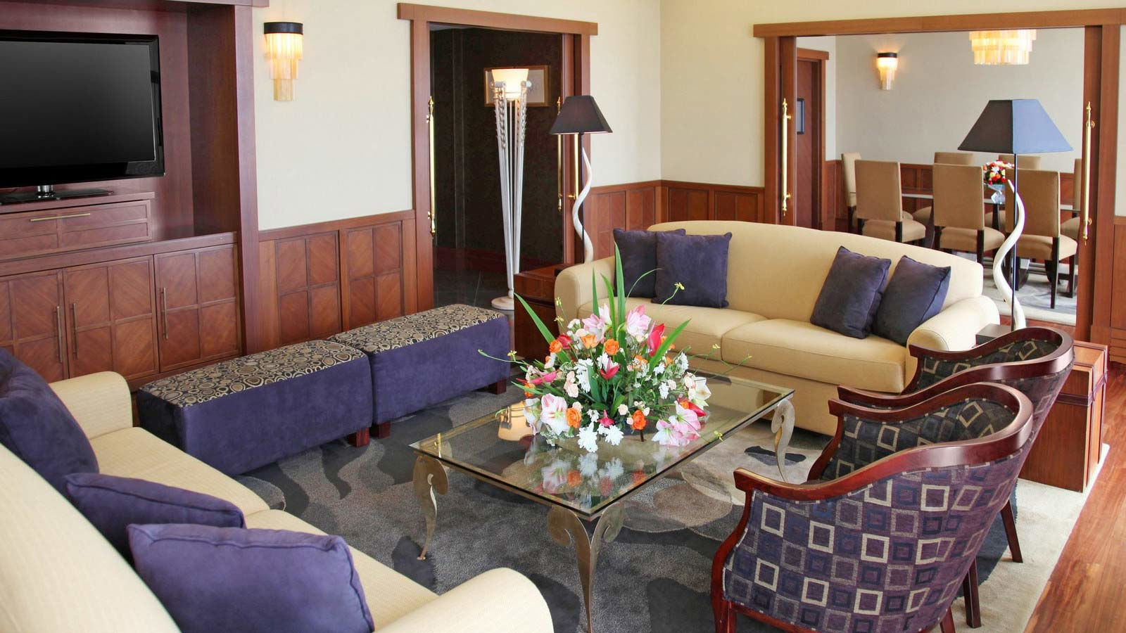 Presidential Suite Living Room Interior