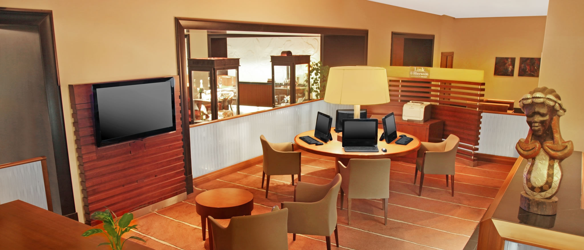 Business Centre at the Sheraton Kampala